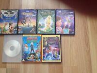 7 children's dvds