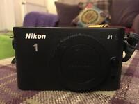 Nikon j1 digital camer with 2 x lens