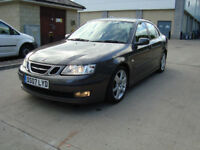 SAAB 9-3 Vector Sport 2007 1.9 TiD 150bhp automatic FSH perfect condition
