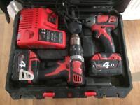 Milwaukee drill set
