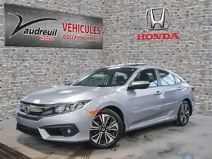 2016 Honda Civic*turbo* EX-T*CAMERA*TOIT OUVRANT