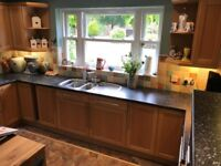 Kitchen (Crown Imperial) Cupboards, Drawers, inc fittings to pick up once stripped (deadline 27June)