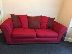 Matching 2 and 3 seater sofa