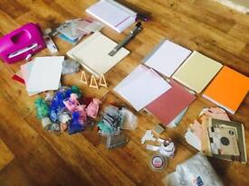 Wedding stationery, card making equipment. All excellent condition