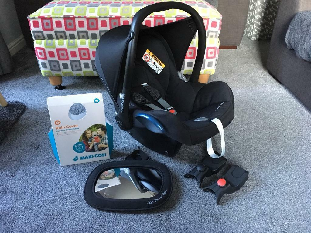 Maxi cosi cabriofix group 0+ car seat black raven bundle | in ...