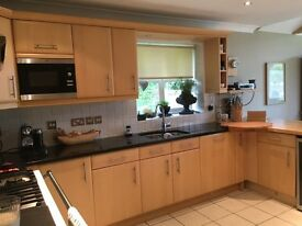 Fitted Kitchen with Garnite work tops