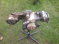 Moped quad engine 50cc