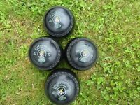 Drakes Pride Professional Bowls Size 1 H Set of 4