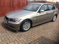 ** 2007 07 BMW 318 SE AUTO **( FULL LEATHER BEIGE INTERIOR ) + GREAT SERVICE HISTORY