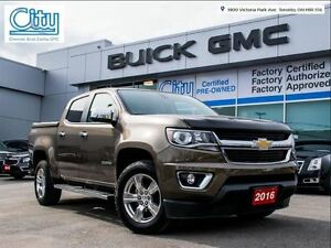 2016 Chevrolet Colorado 4WD/LT/NAV/LEATHER/V6