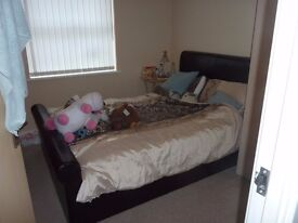 Double room to rent in lovely ground floor modern flat