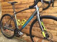 2016 Specialized Diverge A1 Sport Adventure Road Bike - 56cm £950 + Extras