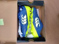 Canterbury stampede men's rugby boots size 9 brand new