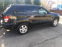 2006 Jeep Grand Cherokee 3.0 turbo diesel automatic full-service history