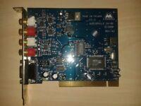 PCI phono audiophile 24/96 Sound card.