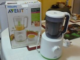 Philips Avent Combined Baby Food Steamer/Blender SCF 870