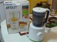 Philips Avent Combined Baby Food Steamer/Blender SCF 870
