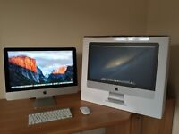 """Apple iMac (21.5"""" late 2012). As new Grade A Condition. 2.7GHz. i5. 16 GB RAM. 1TB FUSION DRIVE"""