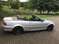 BMW 3 Series 2.2 320Ci 2dr CONVERTIBLE (LONG MOT and SUPER CLEAN)