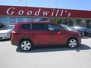 2012 Chevrolet Orlando LT! HEATED SEATS! SUNROOF!