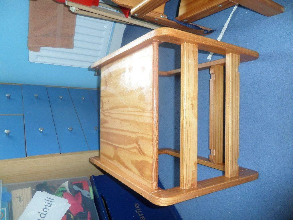 wooden high chair that converts to buy sale and trade ads