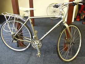 """real quality """"CHARGE"""" Scourer gents touring bike with disc brakes"""