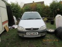 Citroen Saxo VTR 1.6 MOT until 2nd October 2018 Reliable Nippy Good Runner
