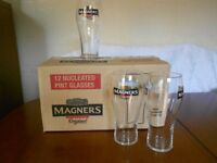 10 MAGNERS CIDER / BEER GLASSES