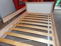 Ikea Cot Bed and Mattress - - £20 - - -