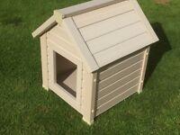 Small eco plastic kennel