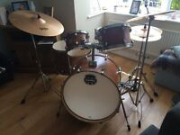Mapex Drum Kit with Zildjian Symbol Set