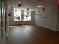 large sunny room for hire
