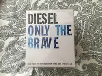 DIESEL ONLY THE BRAVE EDT POUR HOMME SPRAY 125 ml.SEALED.