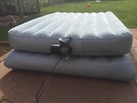 Double aero bed