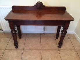 Edwardian Console Table
