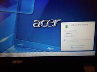 acer 5760 i5-2520 cpu-2.50GHz 4gb ram 320 hdd 15.6 inch dvd-rw webcam windows7 64.bit skayp