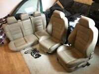 Golf mk4 heated leather recaro seats full interior
