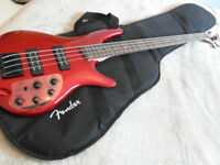 Ibanez SR 300 EB Active bass guitar. Brand new Pre-owned -never been used
