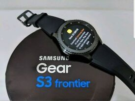 Samsung Gear S3 Frontier Smart Watch Complete with Original box and accessories