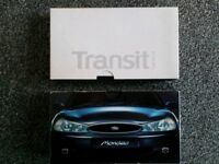 Collectable Ford Mondeo and Ford Transit VHS cassettes