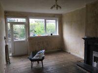 3 BEDROOM Ground floor flat for sale.