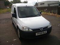 vauxhall combo crewvan 2000 cdti 1.3 turbo diesel 2008 58