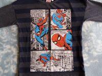 Spiderman Tee-Shirt Long Sleeve Top Boy 5-6 years