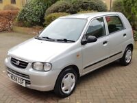 SUZUKI ALTO 1.1 FULL AUTOMATIC CAR SUPERB LOW MILEAGE EXAMPLE 29000 YES ONLY 29000, LONG MOT, LOOK