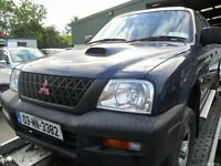 mitsubishi l200 2.5 pick up 2003 non runner needs headgasset