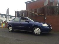 Vauxhall Astra Automatic Long Mot Low Miles Cheap Auto Car !