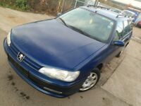LHD Peugeot 406 Diesel with A/C , we have more left hand drive ---15 cheap cars on stock---