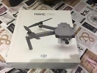 Brand new sealed dji mavic pro drone