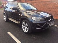 BMW X5 3.0 30d SE 5dr 7 SEATER + NAV 2010 black colour 7 seats well serviced £9999 07398146529