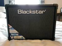 Blackstar ID: Core 20 Stereo V2 20 watt Combo Amp, black